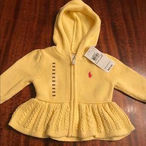 Ralph Lauren baby sweater 3 months